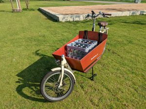 Bakfiets Cruiser Long Beladen